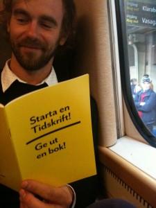 Publit med boken Starta en tidsskrift! Ge ut en bok!